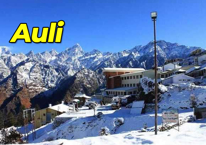 Auli is Magical place to visit during winter