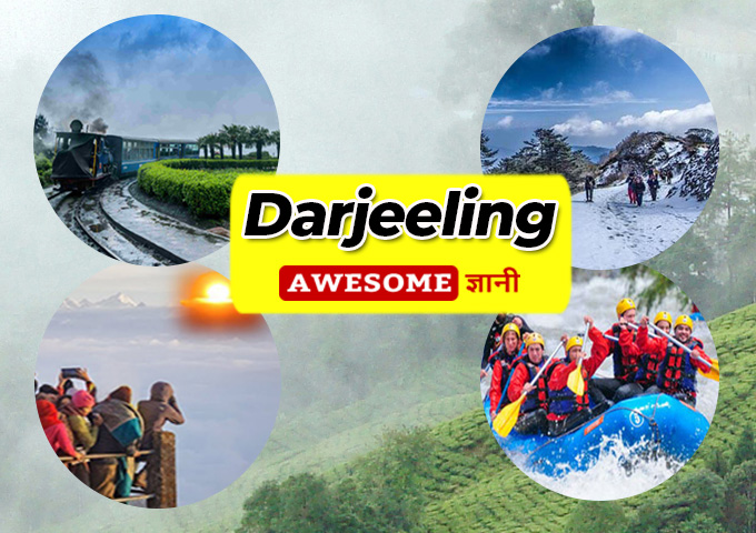 Best and beautiful place for summer vacation, Darjeeling in india