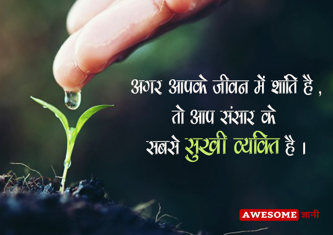 Best Shanti Quotes on Life in Hindi