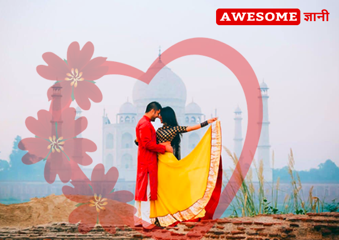 best pre wedding shoot location in agra India