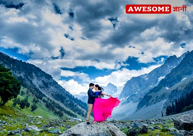 pre wedding shoot location in Himachal Pradesh