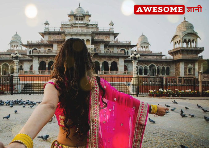 best pre wedding shoot location in Jaipur pink city