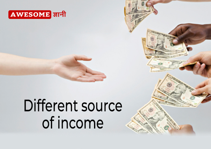 Different Source of Income